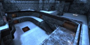 Almost Winter Quake 3 Map - AlmostLost Winter Remake