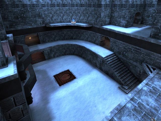 Almost Winter Quake 3 Map - AlmostLost Winter Remake