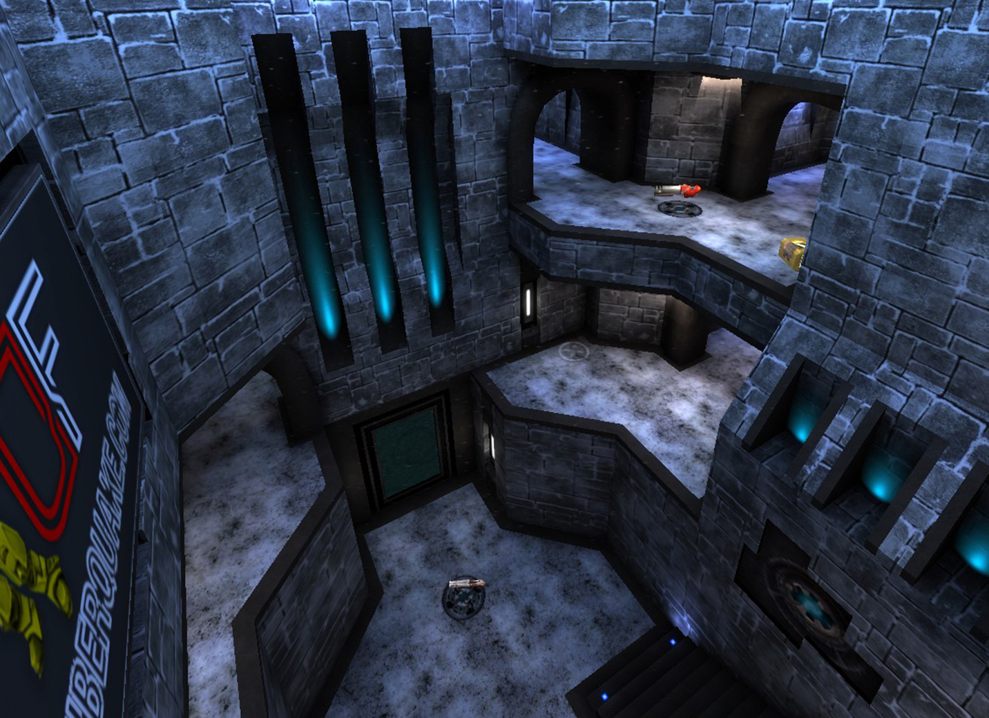 AeroWinter - Winter Version of AeroWalk for Quake 3 - Quake